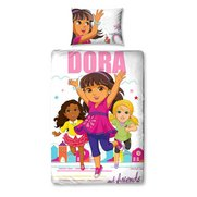 Dora City Girl Single Duvet Set