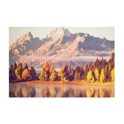 Autumnal Mountains Canvas