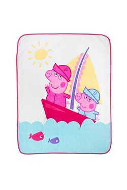 Peppa Pig Nautical Coral Fleece