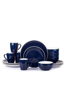 16 Piece Colour Bound Dinner Set