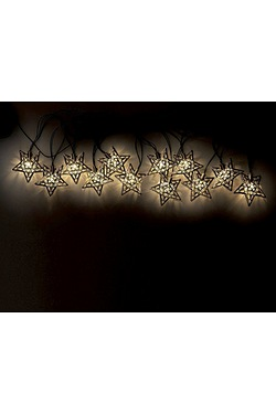 Solar Metal Star Lights