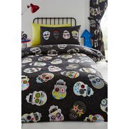 Sugar Skull Duvet Set