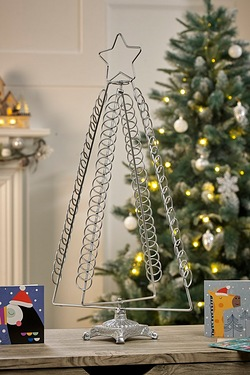 50cm Metal Tree Card Holder