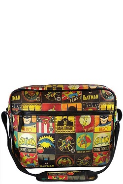 DC Comic Vintage Messenger Bag
