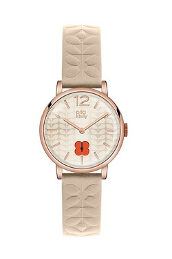 Orla Kiely Frankie Watch With Rose ...
