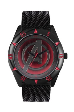 Avengers Watch Set Black