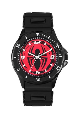 Spiderman Watch Set Black