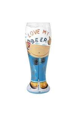Beer Belly Beer Glass