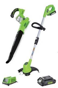 Greenworks Cordless Line Trimmer wi...
