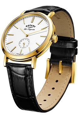 Gents Rotary Windsor Strap Watch.