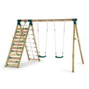Uakari Wooden Garden Swing Set