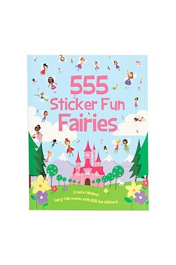 555 Sticker Fun - Fairies