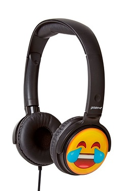 Groov-e EarMOJI Headphones Face Cry...