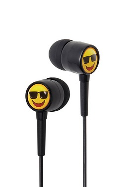 Groov-e EarMOJI Earphones Cool Face...