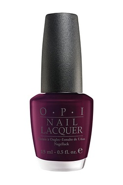 OPI Black Cherry Chutney 15ml Nail ...