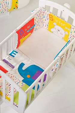 Obaby B Is For Bear 3 Piece Crib Se...