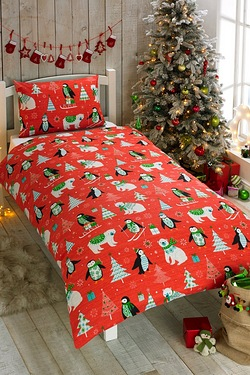 Frosty Friends Duvet Set