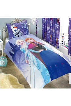 Frozen Transparent Single Duvet Set