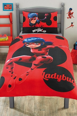 Miraculous Single Panel Duvet Set