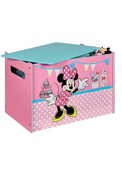 Character Toy Box - Minnie Mouse