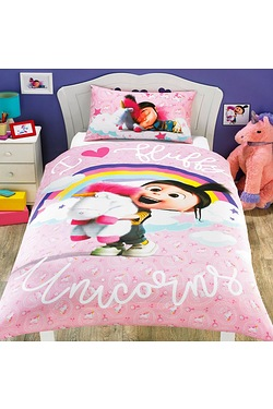 Despicable Me 3 Pink Duvet Set