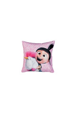 Despicable Me 3 Pink Cushion