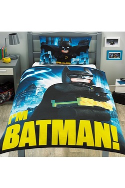 LEGO Batman Single Panel Duvet Set