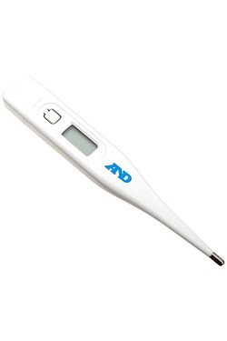 A & D Digital Thermometer With Flex...