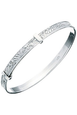 Sterling Silver Patterned Christeni...