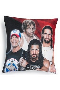 WWE Super Seven Filled Cushion