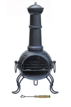 Gardeco Madison Steel Chimenea