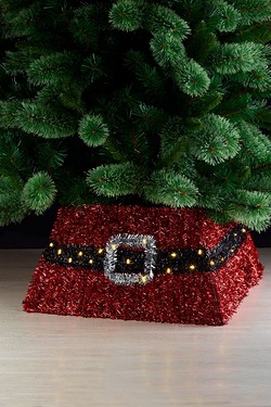 Santas Belt LED Tree Skirt