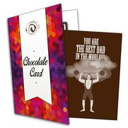 Best Dad Chocolate Card