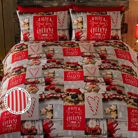 Image for Merry and Bright Duvet Set from ace