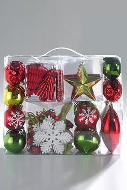 48-Piece Bauble Pack