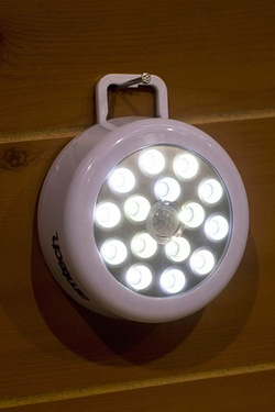 Am-Tech 15 SMD LED Motion Sensor Light