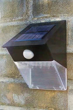 Am-Tech 12 LED PIR Solar Security Light