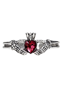 Claddagh By Night Bangle