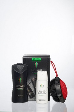 Lynx Africa Manwasher Gift Pack