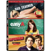 Bad Teacher/ Easy A/ Superbad Tripl...