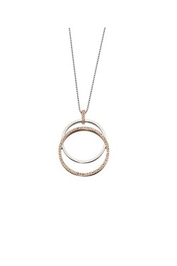 Fiorelli Mix Metal Interlinked Pendant