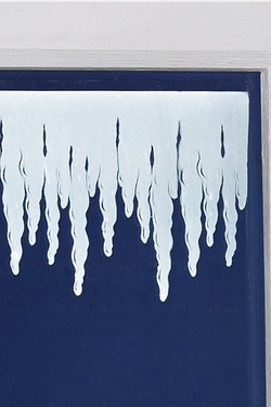 Window Border Stickers - Icicles