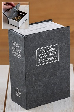 English Dictionary Book Safe