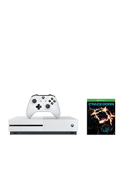 Xbox One S White 500GB Console + Cr...