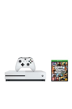 Xbox One S White 500GB Console + Gr...
