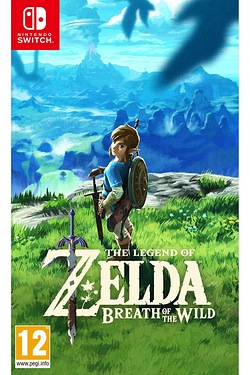 Switch: Legend of Zelda Breath of t...