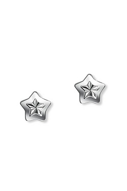 D For Diamond Star Earrings