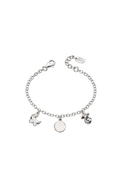 D For Diamond Charm Bracelet
