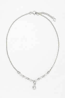 Sterling Silver Anklet With Charm