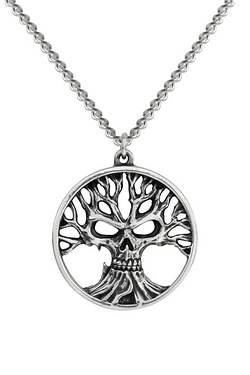 Gotik Tree Of Death Pendant